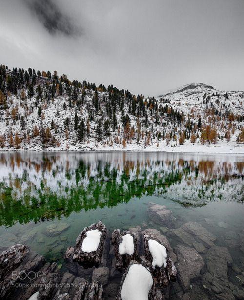 LEVA by guworld  lake sea mountains dolomites unesco fanes sennes LEVA guworld