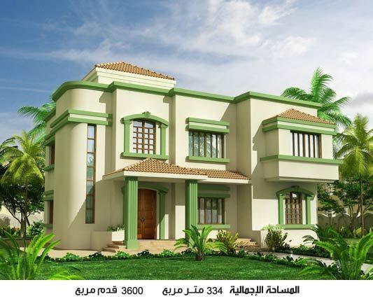 تصميمات حديثة وجديدة لاحدث الفلل السعودية التي يتم تصميمها على دورين وفقا لما قدمه اك Affordable House Plans Architectural Design House Plans 3d House Plans
