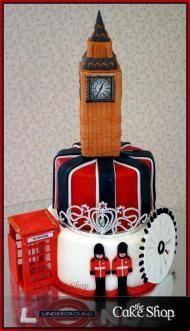 big ben cake - Buscar con Google Pasteles del mundo ...