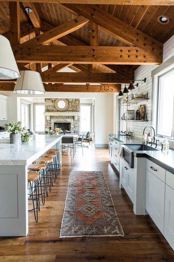 Como Decorar La Casa Estilo Rustico Cocinas Rusticas Casas