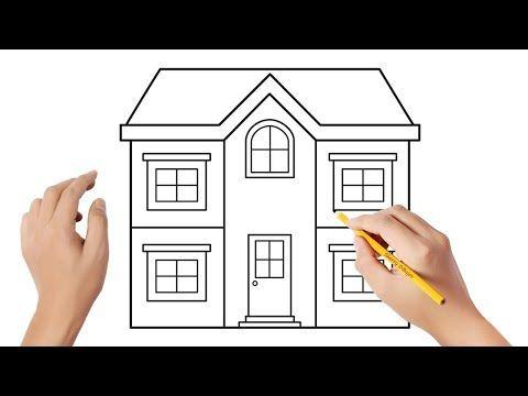 Como Dibujar Una Casa Paso A Paso 5 Dibujos Para Ninos Youtube Como Dibujar Una Casa Dibujo De Casa Como Hacer Dibujos Faciles