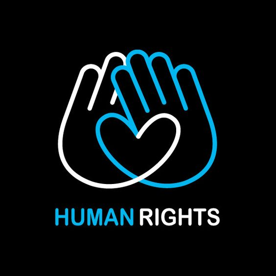 human rights logos and the hand on pinterest