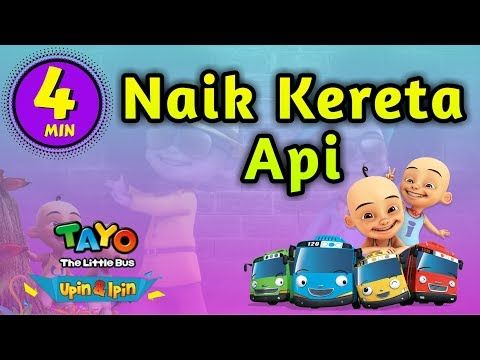 Gambar Kereta Versi Kartun Naik Kereta Api Lagu Anak Versi Upin Ipin Dan Tayo Dewamusic Youtube Lagu Bernyanyi Youtube