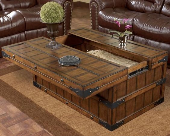 40 Ways To Enhance Room Decor With Chests And Trunks In Vintage Style Home Pinterest