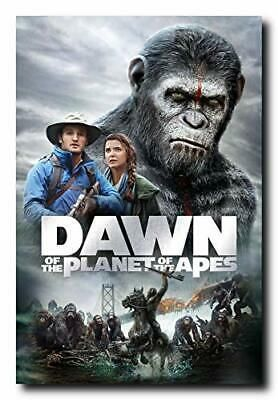 Details About Dawn Of The Planet Of The Apes Movie Poster 24x36