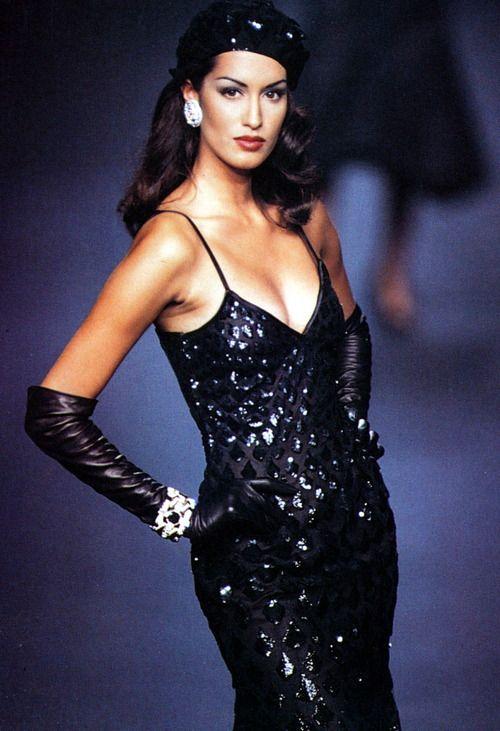 Yasmeen Ghauri - Valentino couture