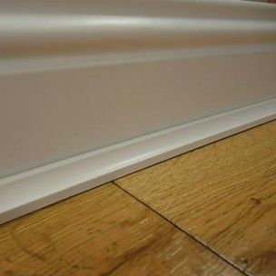 Series Laminate 2.4m White Scotia