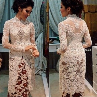 Model Baju Vera Kebaya Pengantin Modern Untuk Akad Nikah