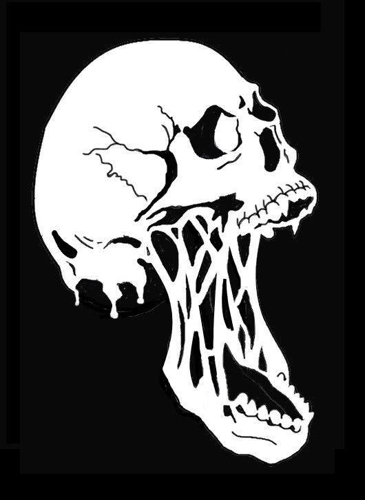 Haut Détail AIRBRUSH pochoir sugar skull 10 Gratuit UK Envoi