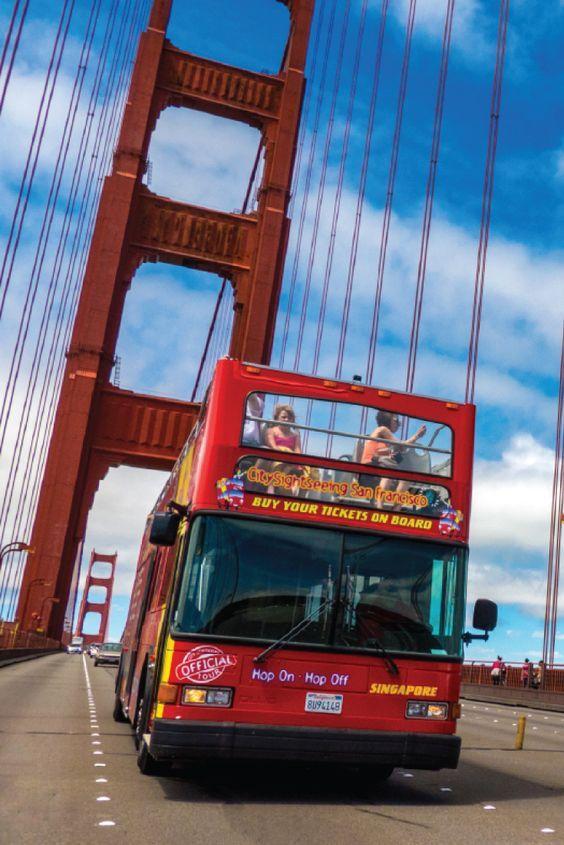 San Francisco Tours Sightseeing Bus