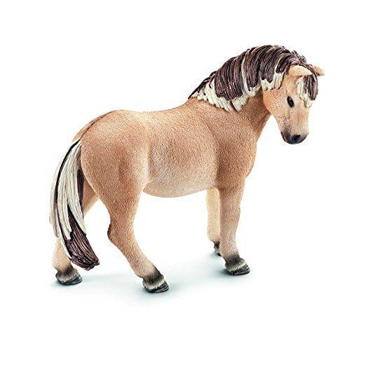Schleich 13754 Fjordpferd Stute Minifigur Schleich Pferde Pferdestall Puppen Geschenkideen Geschenk Jungs M Fjordpferd Schleich Pferde Ausgestopftes Tier