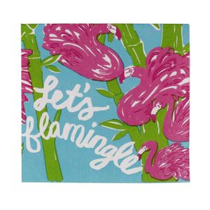Lilly Pulitzer cocktail napkins will definitely add color to any party.: