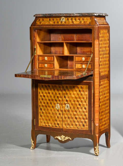 C1765 70 Secretaire A Abattant Transition In The Style Of J F Oeben Jean Francois Oeben Maitre 1761 Beautiful Furniture Furniture Antique Collection