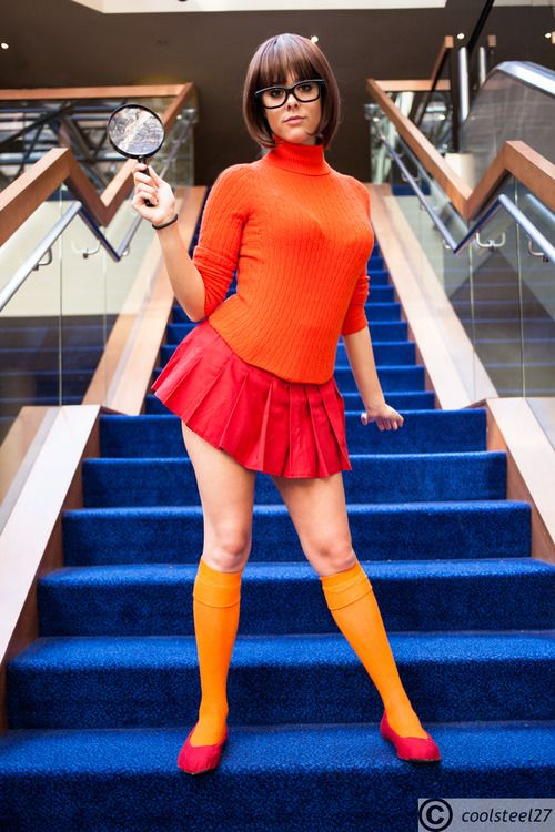 Velma - I could always cut bangs...hubs could be my Shaggy!