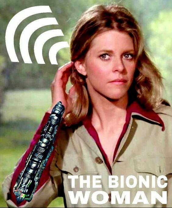 La mujer bionica