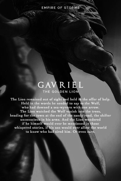 Empire of Storms - Gavriel [Spoilers]