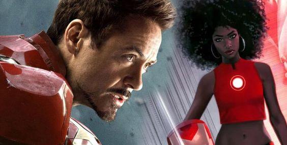 A Marvel Comics anunciou uma grande e genial mudança em suas HQs. Tony Stark não será mais o Homem de Ferro após os acontecimentos da HQ 'Guerra Civil 2', e foi substituído por uma adolescente negra de 15 anos! Sim, um passogigantespara a inclusão da diversidade nos quadrinhos. A personagem éRiri Williams, uma genial expert da ciência que entrou para o MIT aos 15 anos.Elafoi apresentada em março na HQ 'Invincible Iron Man #7' e iráestrelar a nova fase da série 'Invincible Iron Man'. A…