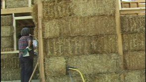 Straw Bale House Video: Building With Awareness excerpt 2A