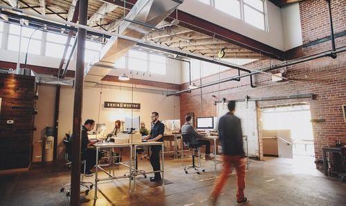 INDUSTRIAL CREATIVE STUDIO SPACE | Interior Design Pix