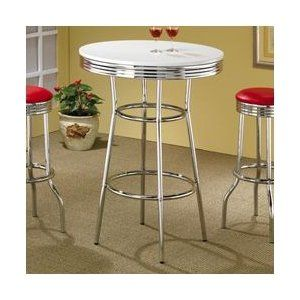 Wildon+Home+Red+Cliff+29''+Bar+Stool+with+Red+Cushion+in+Chrome+(Set+of+2)