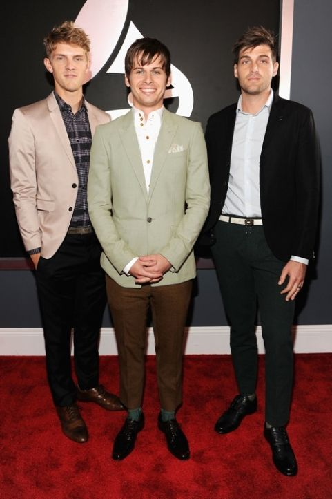 Foster the People arrive at the Grammy Awards