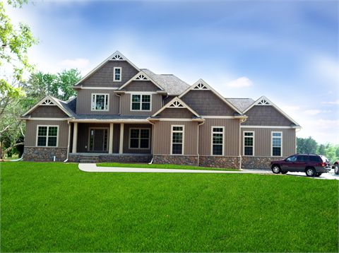 The Lockhart A House Plan 2596 sq ft 4 bed main floor master