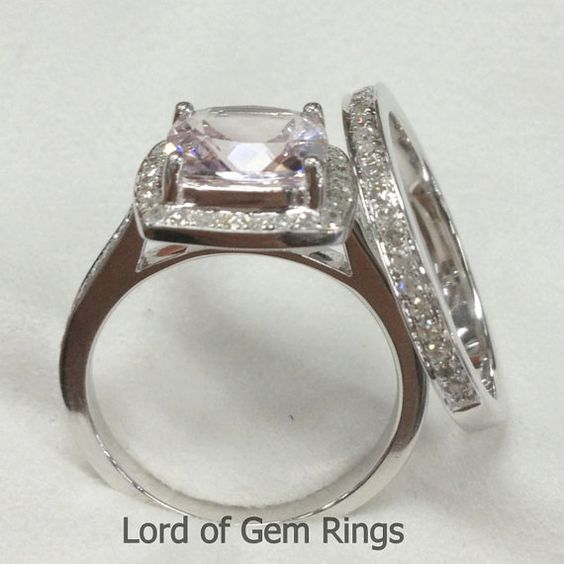 Hey, I found this really awesome Etsy listing at https://www.etsy.com/listing/195858624/two-wedding-ring-sets-claw-prongs-7mm