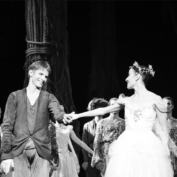 @LudmilaPagliero et Karl Paquette  La source (29/11/2014) - Jean Guillaume  Bart @BalletOParis