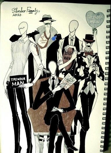 Five Brothers Slenderman,Sexual Offenderman,Splendorman ...
