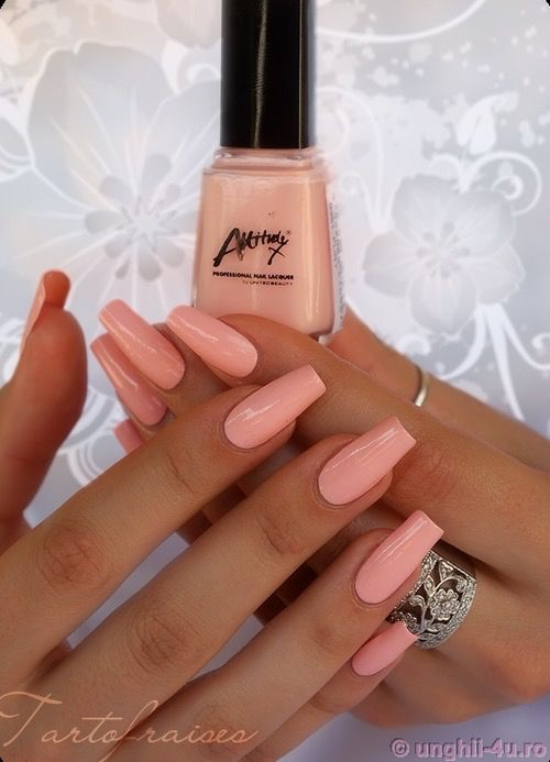 Untitled pink, nails