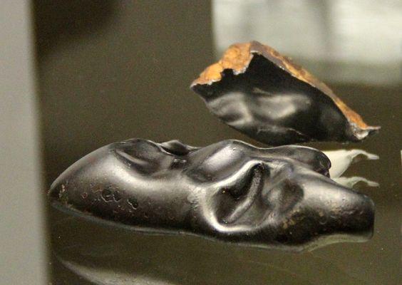 Eisenmeteorit, Sikhote Alin, Sibirien - Mineralogisches Museum Marburg