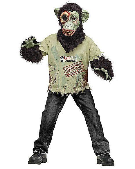 Zombie Chimp Boys Costume - Spirithalloween.com