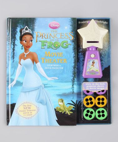 Take a look at this Disney Princess & the Frog Movie Theater Board Book Set by Disney on #zulily today!