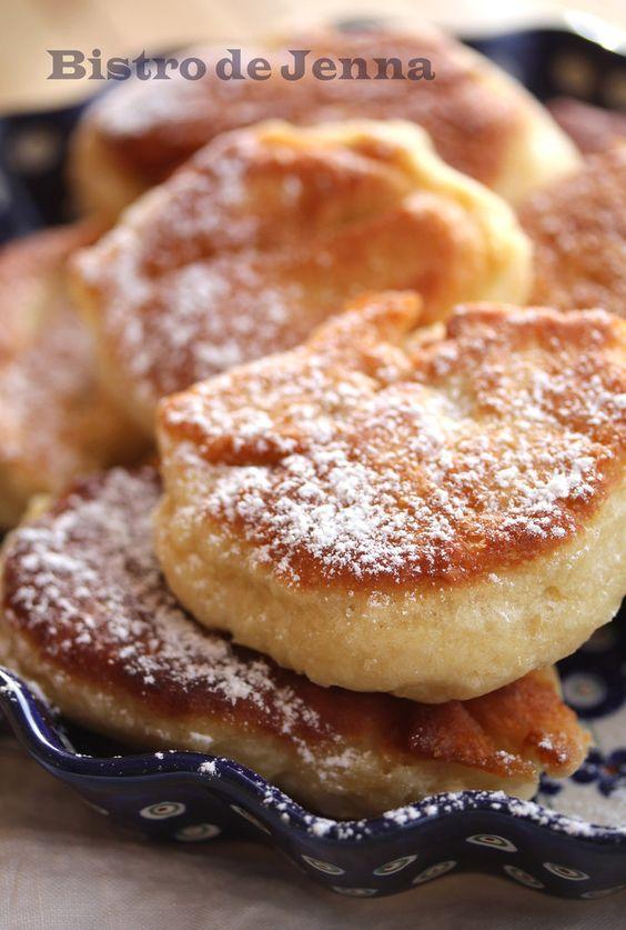 blinis polonais 255 g farine 1 s levure boulanger 1 pincée sel 1 c.s sucre roux 200 ml lait 1 oeuf huile arachide pour friture: