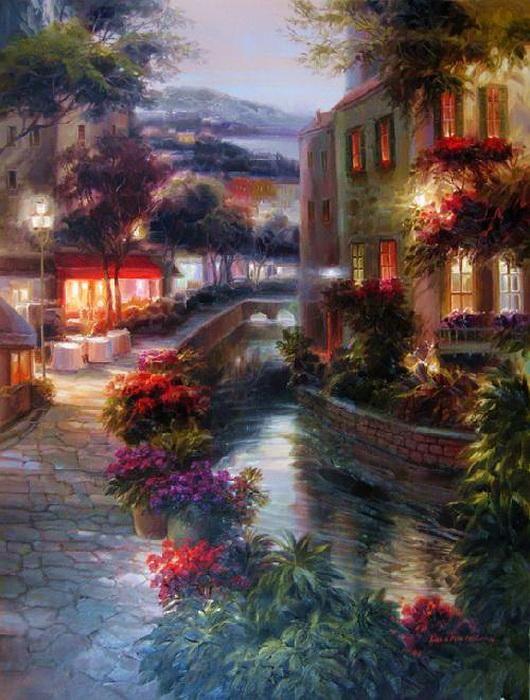 Dae Chun Kim 1  - Vibrant Paintings by Dae Chun Kim: