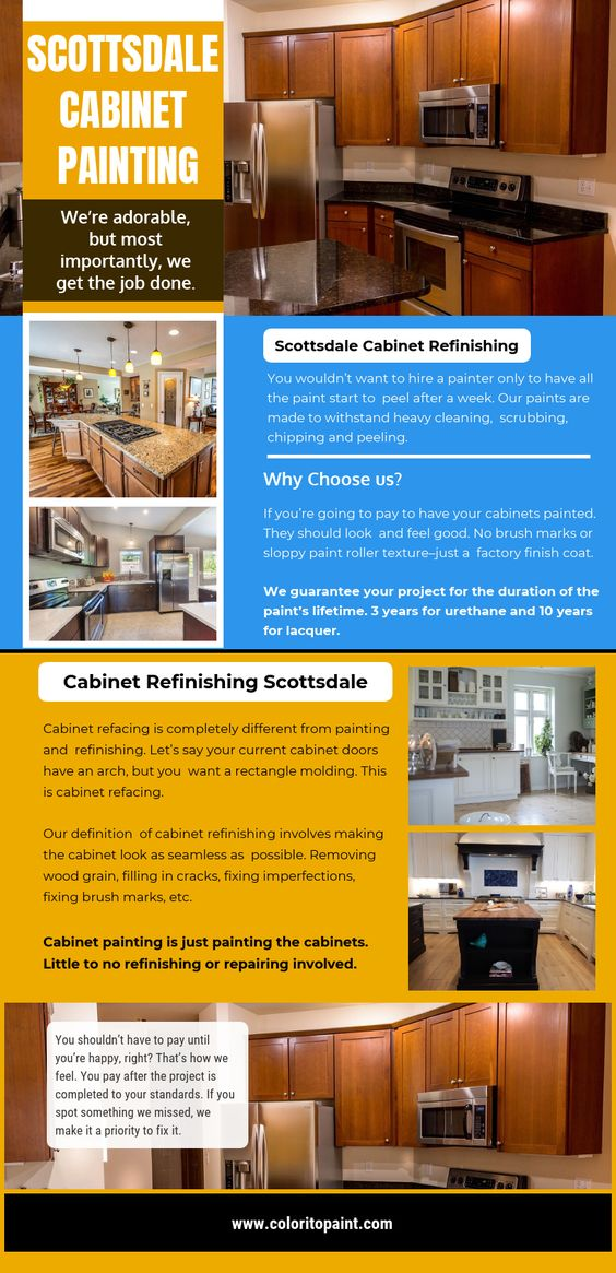 Scottsdale Cabinet Painting