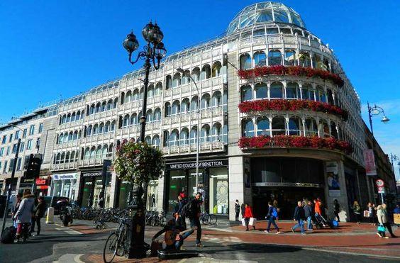Stephen's Green Shopping, em Dublin - Foto: Ticiana Giehl e Marquinhos Pereira/Escolha Viajar