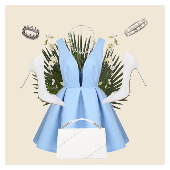 """""""Untitled #25"""" by chisachn on Polyvore featuring Pier 1 Imports, Carolee, Tiffany & Co., Loree Rodkin and Jason Wu"""
