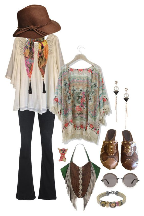 """""""Bohemian Fall"""" by perpetto ❤ liked on Polyvore featuring True Religion, Haute Hippie, Chicwish, Etro, Miu Miu, The Row, Topshop and Platadepalo"""