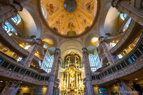 Frauenkirche Dresden Germany by olafchristen1  500px visit 2016 published saxony frauenkirche Church Dresden Sachsen OlafC_Photography olafchristen