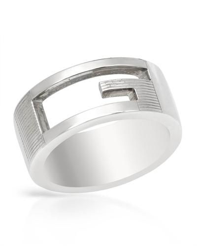 GUCCI G Sterling Silver Ring  Women #Jewelry