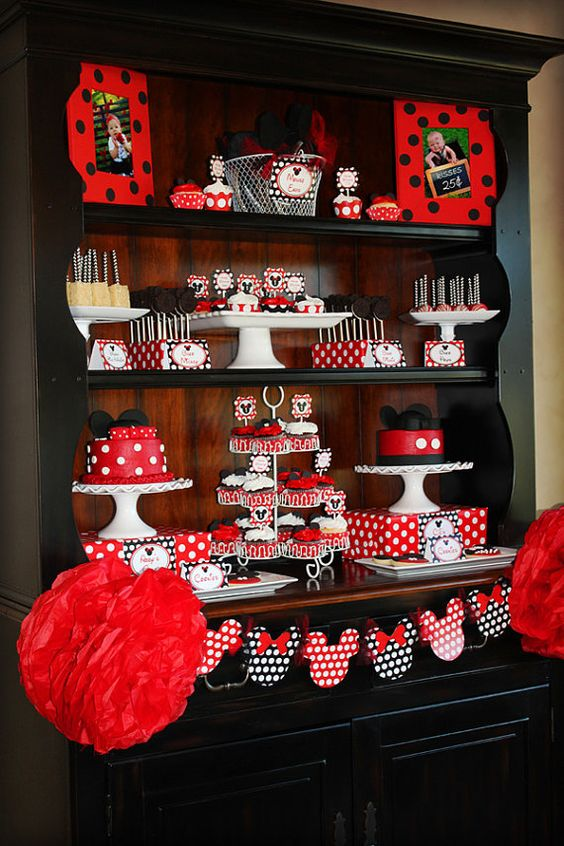 Minnie Mouse Birthday Party: