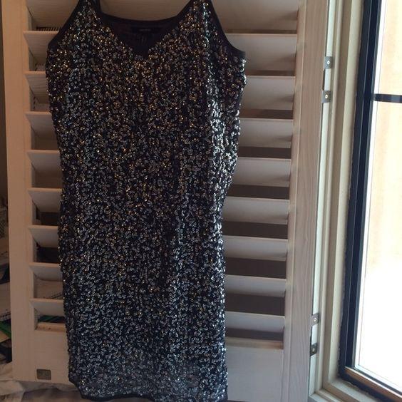Sequin mini dress Sequin embellished mini dress Forever 21 Dresses Mini