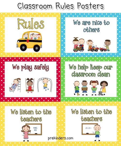 pre k classroom rules pinterest classroom preschool classroom and preschool. Black Bedroom Furniture Sets. Home Design Ideas