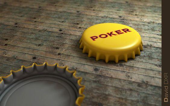 Botella Cerveza Poker on Behance