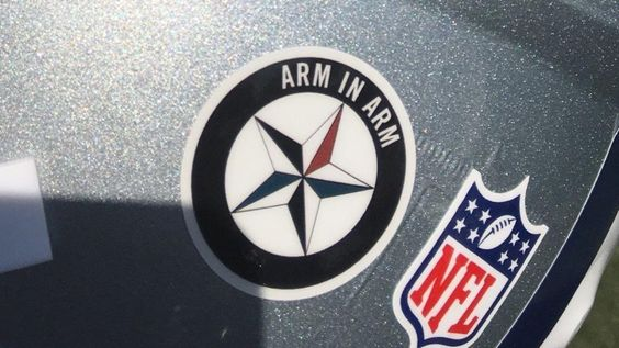 The NFL Denied the use of the Arm in Arm decal in Tribute to Fallen Officers...
