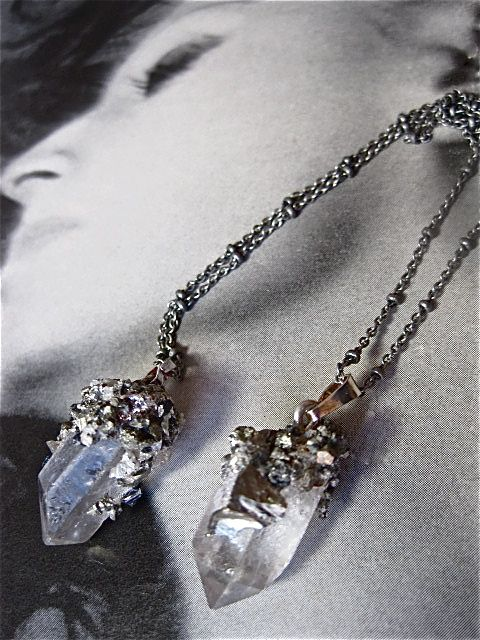 $Pyrite dusting on quartz.   A 'winning' combination!