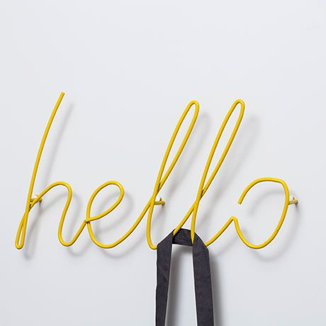 Hello Garderobe - Gelb - alt_image_two