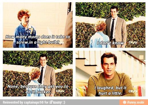 Haha modern family :D
