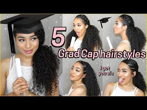 5 Best Graduation Hairstyles For Curly Hair Lana Summer